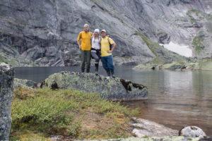 на озере Ледяное